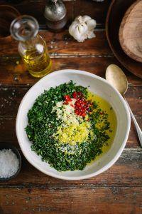A delicious chimichurri recipe