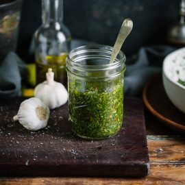 A delicious chimichurri recipe