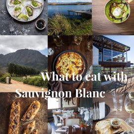 What to eat with Sauvignon Blanc