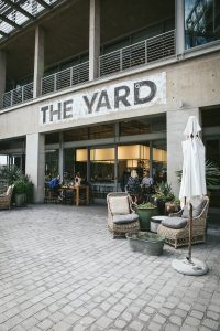 Sunday brunch at The Yard in the Silo District, Cape Town, South Africa