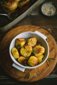 How to make hte best ever duck fat roast potatoes