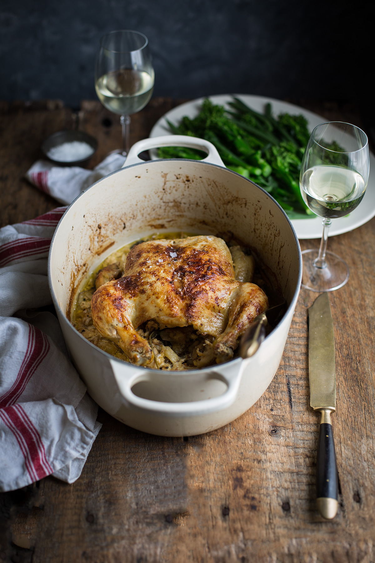 Jamie Olivers chicken in milk recipe