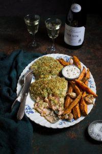 Herb & fennel crusted salmon