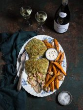 Herb & fennel crusted salmon