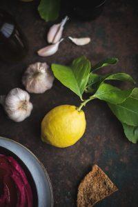 The best roast beetroot hummus recipe
