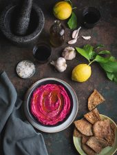 The best roast beetroot hummus recipe