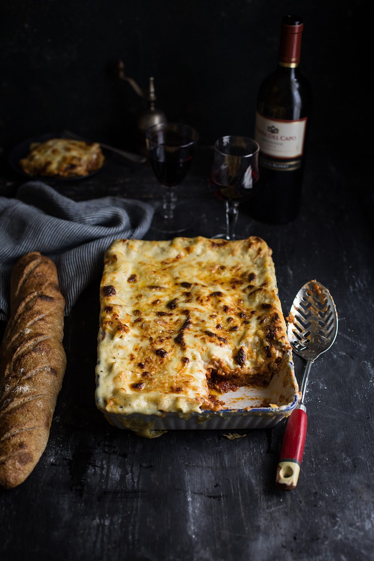 A sort of classic lasagne recipe