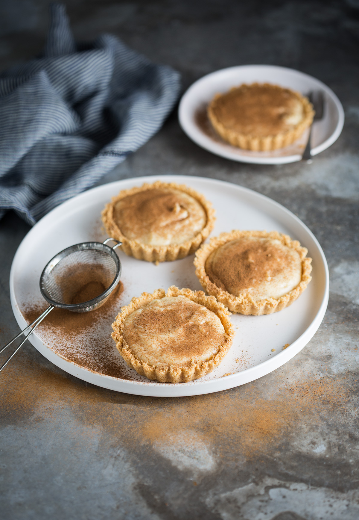 Classic South African Unbaked Milk Tarts Recipe Drizzle And Dip