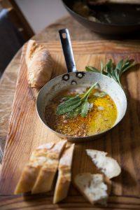 Bokkom butter with sage
