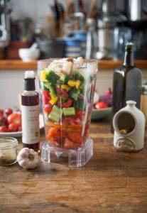 A delicious gazpacho or salmorejo recipe