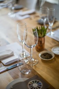 A chefs table lunch at The Foodbarn with Avondale wines