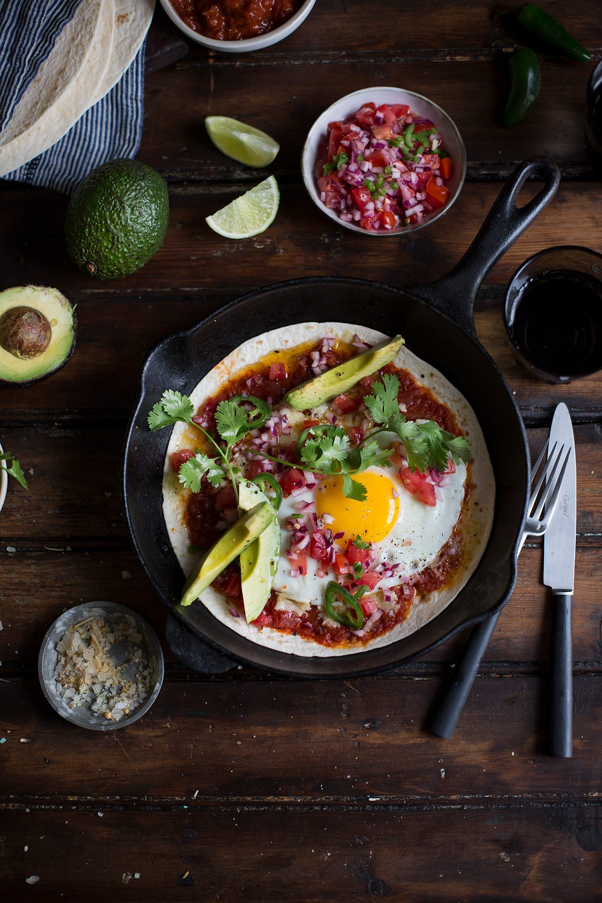 A recipe for Huevos rancheros with chipotle