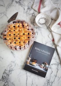 Nectarine, blueberry & bourbon pie recipe