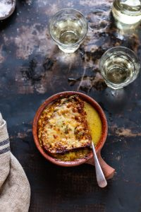 A very delicious French onion soup recipe