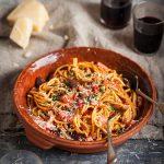 Spaghetti Puttanescarecipe
