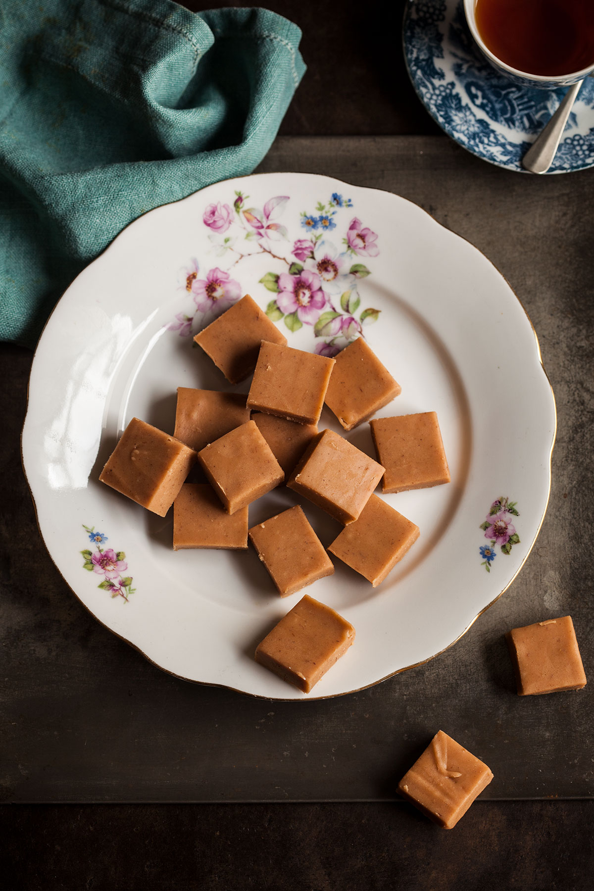 White chocolate and green tea fudge recipes