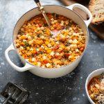 Winter minestrone soup recipe