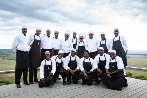 The Chefs of Angama Mara