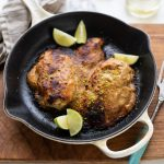Jamie Oliver's gnarly peanut chicken with lime & chilli recipe