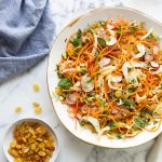 Moroccan carrot & fennel salad with sultanas & pistachios recipe