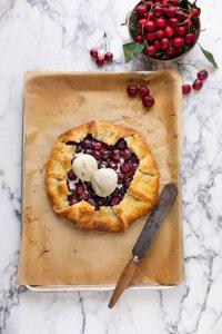The best cherry galette recipe