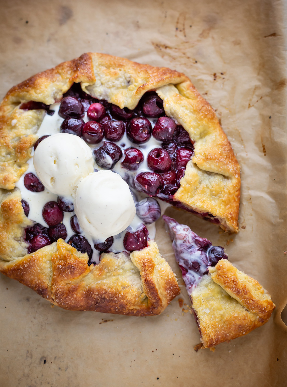 The best cherry galette recipe