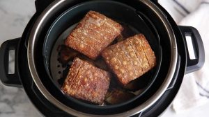 How to make crispy pork belly in the Instant Pot Duo Crisp