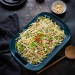 Crispy noodle slaw with a soy, honey & ginger dressing recipe