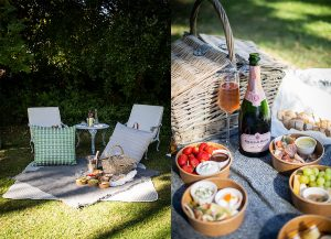 A picnic at the Belmond Mount Nelson Hotel, Cape Town