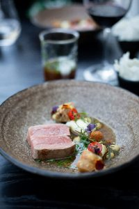 The African Modern Menu at the Greenhouse, in Cape Town