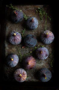 Roast fig tartines with blue cheese & honey recipe