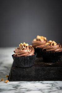 Beetroot red velvet chocolate cupcake recipe