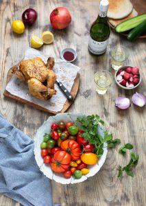 How to make a Middle Estern Fattoush Salad recipe