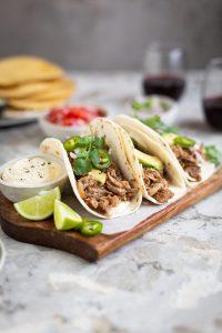 Pork carnitas tacos recipe