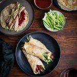 Easy duck pancakes with plum sauce recipe