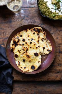 How to make easy naan bread (no yeast)