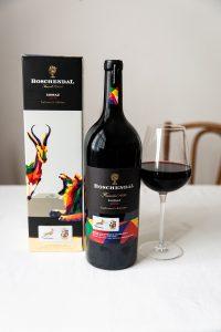 Boschendal Lions tour shiraz 2019 magnum, wine