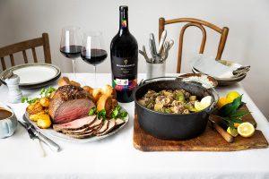 Roast beef & yorkshire pudding and waterblommetjie potjie recipes